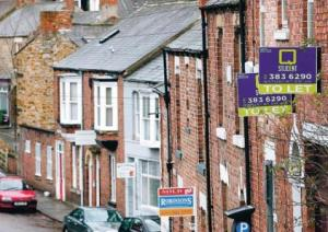 To let boards in Durham centre